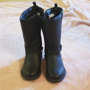 Toddler girls riding boots